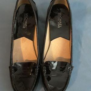 Michael Kors Black Loafer Heals